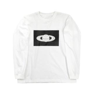 レプリカ土星 Long sleeve T-shirts