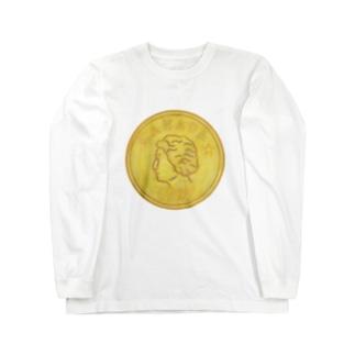 金貨 Long sleeve T-shirts