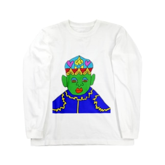 JUNSEN(純仙)ハッドリー・ハビランセ Long sleeve T-shirts