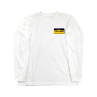 Eclair プレート Long sleeve T-shirts