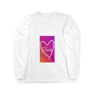 HELLO Long sleeve T-shirts