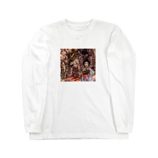 悪鬼羅刹 Long sleeve T-shirts