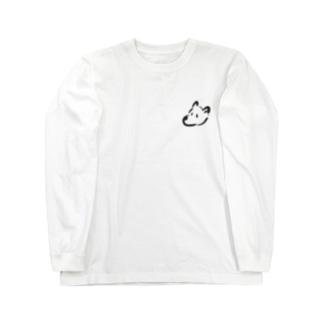 いぬ。 Long sleeve T-shirts
