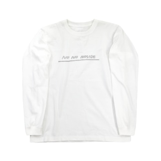 N0 NO NOSIDE Long sleeve T-shirts