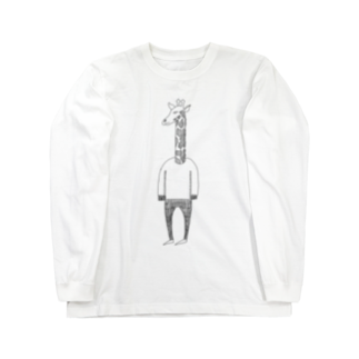 Tommy_is_mozukuの🦒 Long sleeve T-shirts