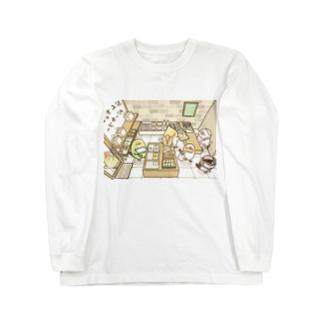 ぶんちょーベーカリー Long sleeve T-shirts