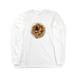蝦仁飯 Long sleeve T-shirts