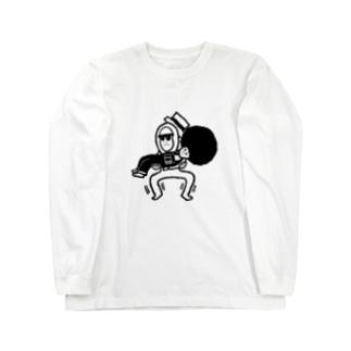 忍耐 Long sleeve T-shirts