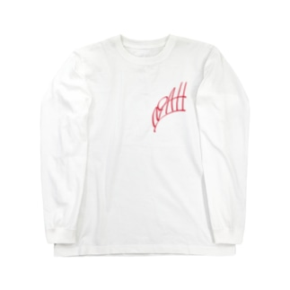 ism的ノアさん(ボツ)デザインred Long sleeve T-shirts