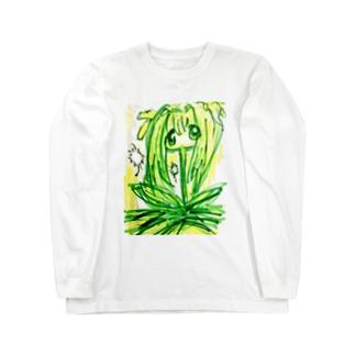 たんぽぽ娘 Long sleeve T-shirts