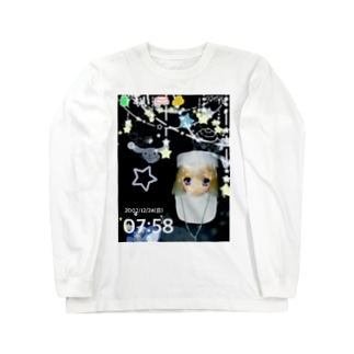 ガラケーの画面 Long sleeve T-shirts