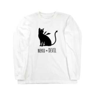NEKO×DEVIL Long sleeve T-shirts