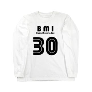 BMI30 Long sleeve T-shirts