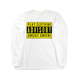 ADVISORY Y ① Long sleeve T-shirts
