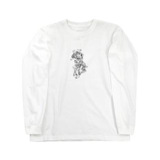 楽しく踊る幇間猫 Long sleeve T-shirts