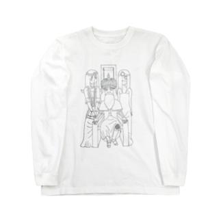 はっぴーたーん Long sleeve T-shirts