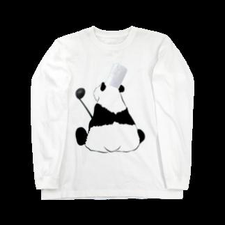 KaNaN〜パンダのシェフなパンダ Long sleeve T-shirts