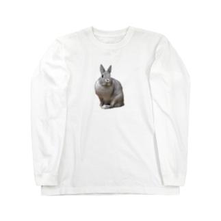 うさぎのミニー Long sleeve T-shirts