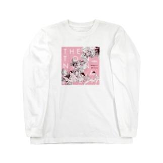桃の花の下で Long sleeve T-shirts