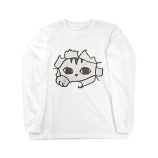 トッパ猫 Long sleeve T-shirts