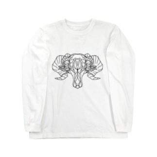 scary monster Long sleeve T-shirts