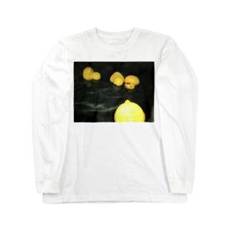 ガーガーダック Long sleeve T-shirts