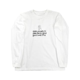 ルーツ Long sleeve T-shirts