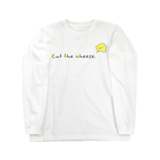 Cut the cheese. Long sleeve T-shirts