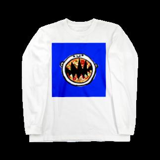 MOGUMO SHOPのpizzaboy Long sleeve T-shirts