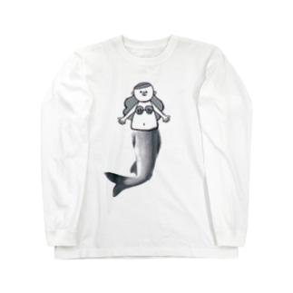 人魚のアユちゃん Long sleeve T-shirts