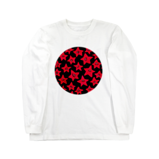 MOGUMO SHOPのあかのほしくん Long sleeve T-shirts