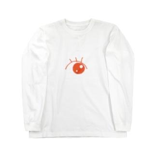 逸らした視線 Long sleeve T-shirts