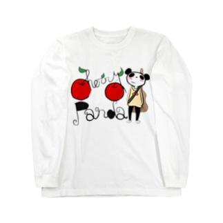 チェリーパンダ🐼🍒 Long sleeve T-shirts