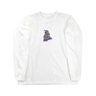 お魚2 Long sleeve T-shirts
