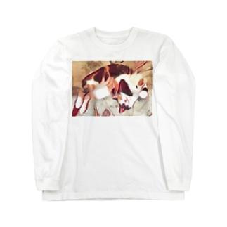 夢の中へ。 Long sleeve T-shirts