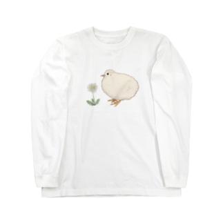 姫うずらさん Long sleeve T-shirts