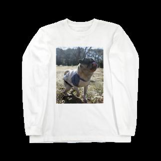 うずらさんのロンT Long sleeve T-shirts