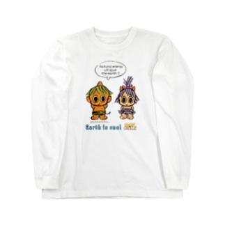 GOROGORO & HIKARU Long sleeve T-shirts