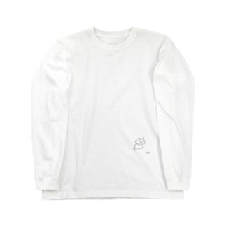 さかがわ成美のくちばしねこ Long sleeve T-shirts
