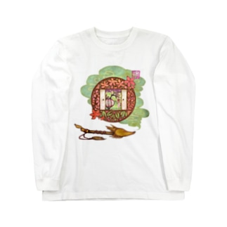 「舞庭」Series * 煙 Season's❀ Long sleeve T-shirts