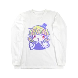 【おちゃめな天使】ソネット【オリジナル】 Long sleeve T-shirts
