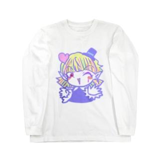 【おちゃめな天使と過保護な悪魔】ソネット Long sleeve T-shirts
