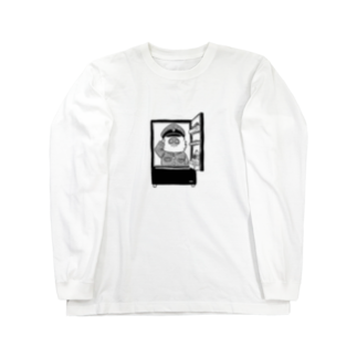 studio moko ちか店の敬礼モグァンプ~家電エンブレム~ Long sleeve T-shirts