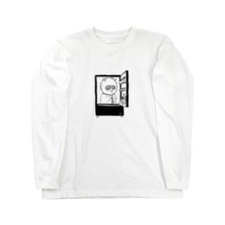 出発モグァンプ~家電エンブレム~ Long sleeve T-shirts