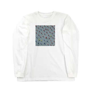時を待つ化石 Long sleeve T-shirts