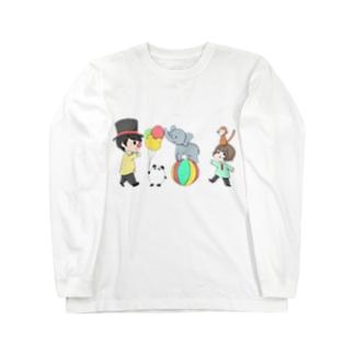 だぁ兄withりさ丸 Long sleeve T-shirts