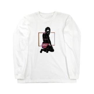 ADHD人向け Long sleeve T-shirts
