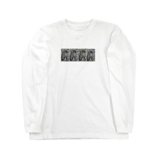 4連女子 Long sleeve T-shirts