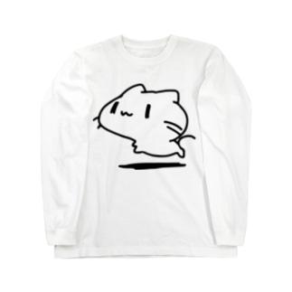 どどねこ-ふつう- Long sleeve T-shirts