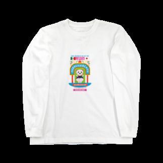 XochimilKidsのXochimikKids X マリオ・フローレス Long sleeve T-shirts
